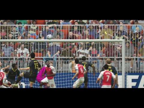 Jack Wilshere great header Fifa 16 Online