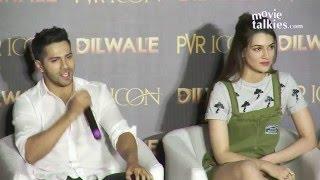 Manma Emotion Jaage Re Song launch | Dilwale | Varun Dhawan, Kriti Sanon, Shahrukh,Kajol