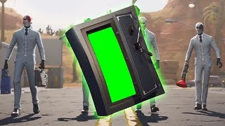 Fortnite High Stakes Safe [Green Screen] [Template]