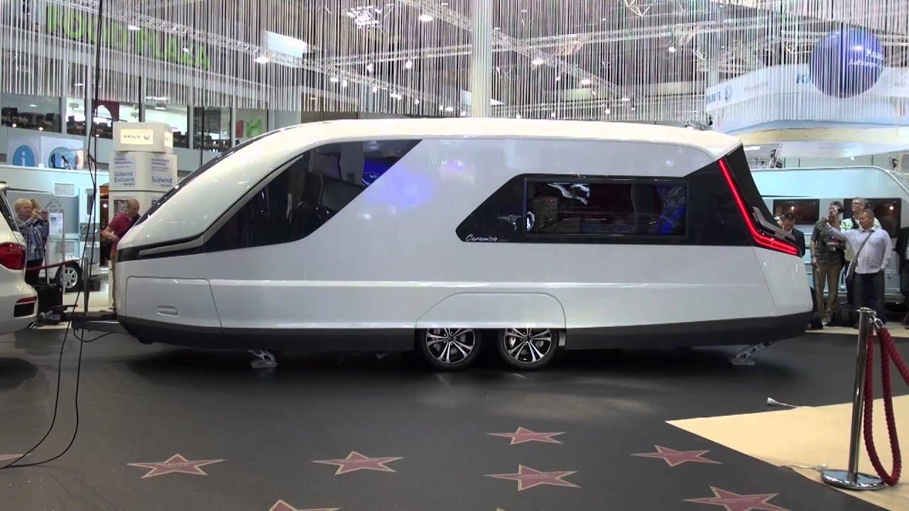 Fremtidens campingvogn fra knaus caravisio caravan salon for Salon caravaning