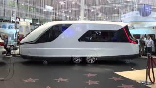 Fremtidens campingvogn fra Knaus | Caravisio Caravan Salon Düsseldorf 2013