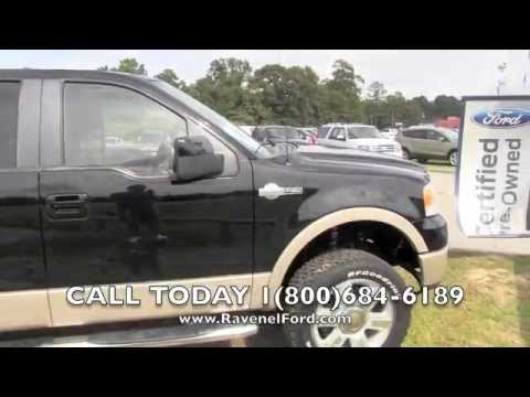 2007 FORD F-150 KING RANCH CREW 4X4 Review Car Videos * Nav * For Sale @ Ravenel Ford Charleston SC
