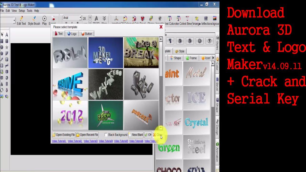 3D Presentation Title Logo Animation Software  Free