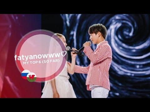 Junior Eurovision 2019 — My Top 6 - fatyanowww