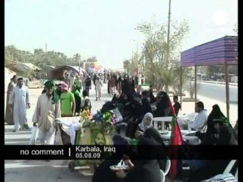 Iraq: Shiite pilgrims arrival in Karbala - no comment