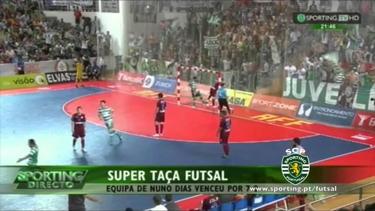 Futsal :: Sporting - 7 x Fundão - 0 de 2014/2015 Supertaça