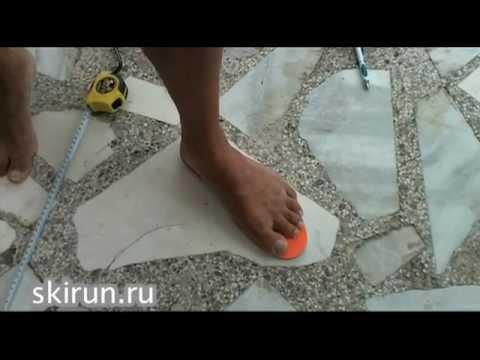 Видео как выбрать размер кроссовок