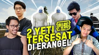 TERNYATA YETI TAKUT SAMA CACING? BANG ALEX,EJGAMING,BENO - PUBG MOBILE INDONESIA