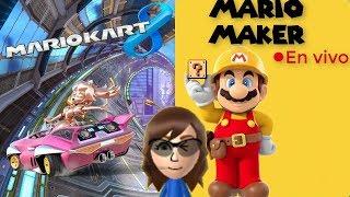 Mario kart 8 VS suscriptores Español / Frances