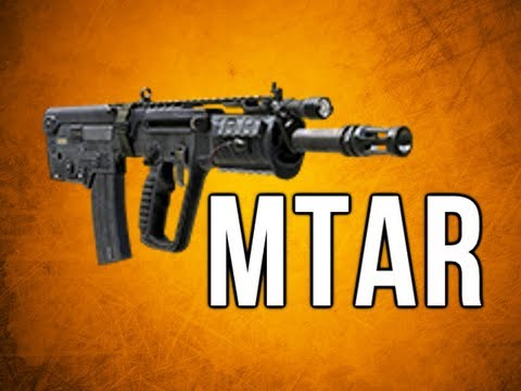 Black Ops 2 In Depth - MTAR Assault Rifle Review