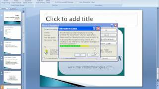 MICROSOFT OFFICE POWER POINT IN HINDI  Chapter 33 - SLIDE SHOW