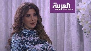صباح العربية   نانسي عجرم حامل وسعيدة بلقب أم البنات