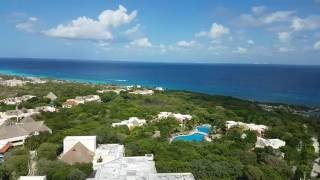 View from Scenic Tower Xcaret - 4K - Riviera Maya - Mexico