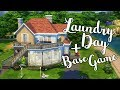 Laundry Day + Base Game Family Home   💚   Sims 4 Speed Build   @PenappleYT