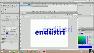 Flash Cs6 AS 3.0 Animasyon Örnekleri 8 (Shape Tween)