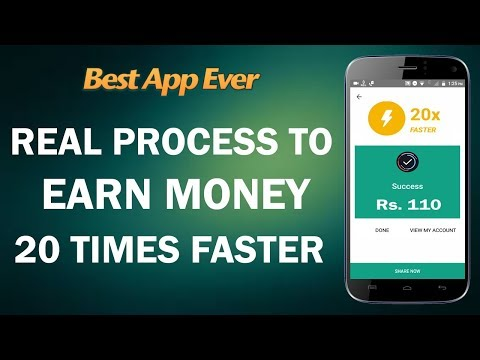 Real Process to Earn Money 20 times Faster !! Best App to Earn Money Online !! Get a 20x Booster !!