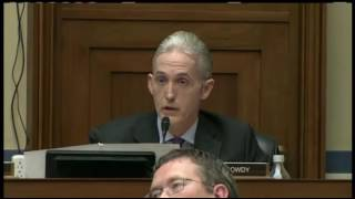 Trey Gowdy Bites Neck of America's Career Girl Cuck Liar James Comey On Hillary Clinton Emails7-7-16