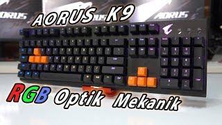 Gigabyte AORUS K9 Optik Mekanik Klavye İncelemesi - Detaylı
