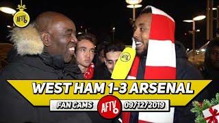 West Ham 1-3 Arsenal | Freddie Ljungberg Picked The Perfect Line Up! (Livz)