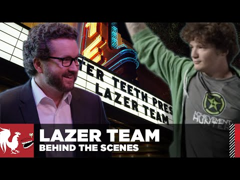 Behind the Scenes: Lazer Team - Episode 6 | Rooster Teeth