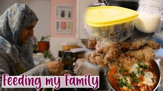 My Weekend Cooking & Meal Prep for the Week | Large Family | Shamsa