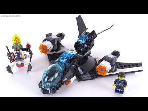LEGO Ultra Agents Ultrasonic Showdown review! set 70171