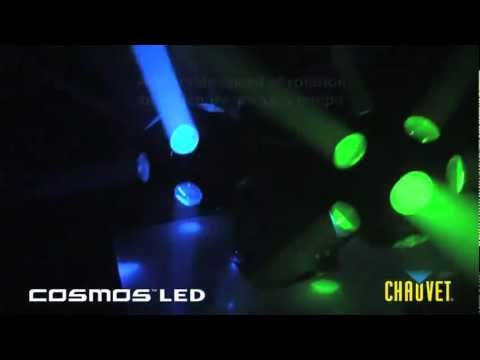 Chauvet Cosmos Rotating LED Lights