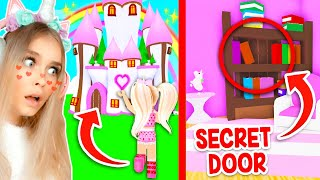 *NEW* SECRET LOCATION In Your CASTLE MANSION You Did Not Know About In Adopt Me! (Roblox)