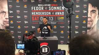 Bellator 208 Post-Fight Presser: Henry Corrales Talks Getting His Teeth Knocked Out