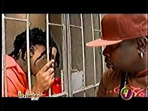 Skull Visit Vybz Kartel in jail!!!!! - 2011