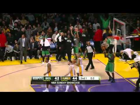 NBA Boston Celtics Vs LA Lakers Game Recap 03/11/2012