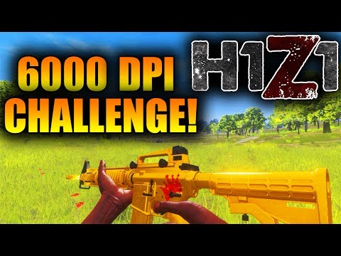 The Most Impossible H1Z1 Challenge EVER! Catching Kids TEAMING in H1Z1 (6000 DPI Challenge)