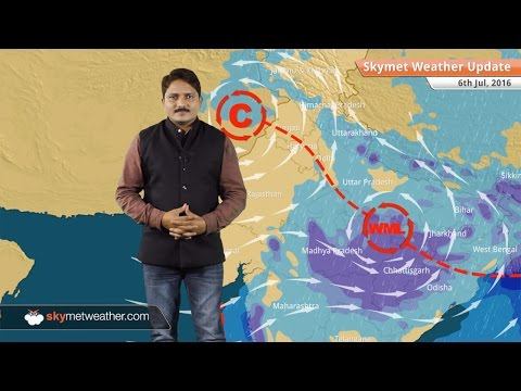 Weather Forecast for July 6: Monsoon active in Madhya Pradesh, Chhattisgarh and Maharashtra