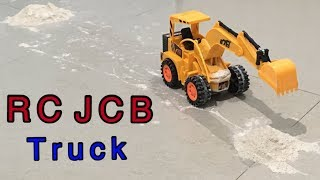 Video for KIDS - RC JCB TRUCK | 5 CHANNEL EXCAVATOR | Unboxing & Testing