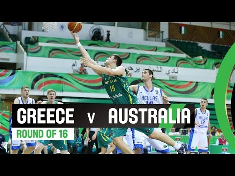 Greece v Australia - Round of 16 Full Game - 2014 FIBA U17 World Championship
