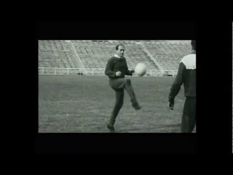 Alfredo Di Stefano Real Madrid superstar : some goals skills