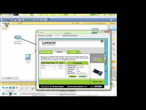Varias formas de configurar un router inalambrico LINKSYS / CISCO 6 Parte