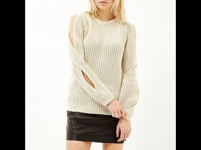 Вязание Спицами: Пуловер, Свитер - 2019 / Knitting Needles Pullover Sweater