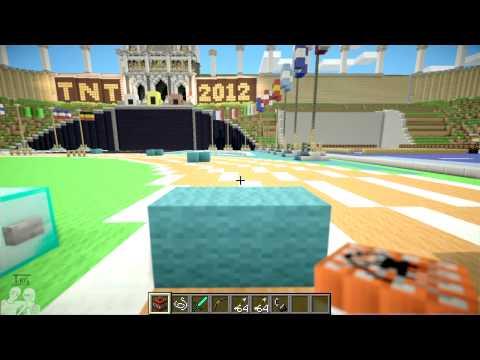 Let's Play Minecraft TNT Olympics #001 - 400m Hürden [Deutsch] [HD]