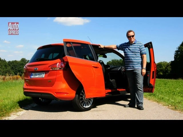 Ford B-MAX review - Auto Express - YouTube