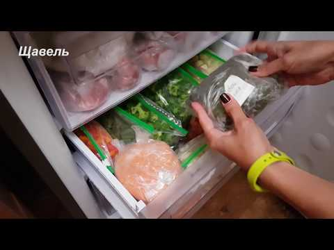 Хранение заморозки в морозилке