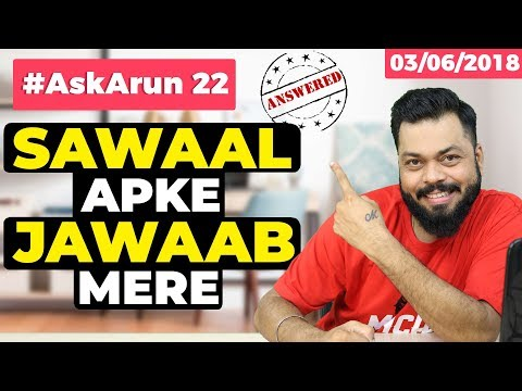 #AskArun 22 - OnePlus 6 vs Vivo x21,What is AI,iPhone X vs Samsung S9 Plus, Saregama Caravaan, p60