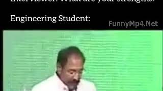 Funny Videos - TRY NOT TO LAUGH | Engineer Writes in Resume About his Strength (Too Funny)