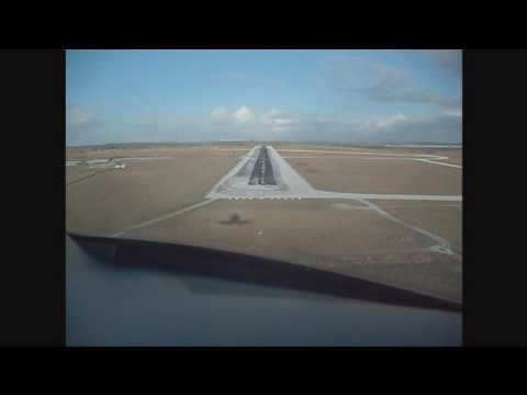 Phenom 100 (E50P) Landing on Ice at Wick - EGPC