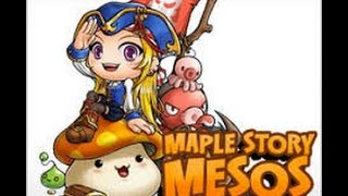 Maplestory How to get to 100  million  mesos