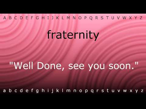 Here I will show you how to say 'fraternity' with Zira.mp4