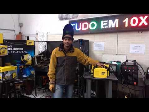 Inversora 140 amperes ESAB