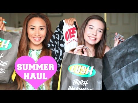 SUMMER HAUL w/ Mylifeaseva ♡ (Lush, Brandy, & MORE!)