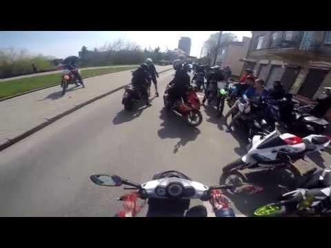 Moto sezono atidarymas Panevežyje 2015!