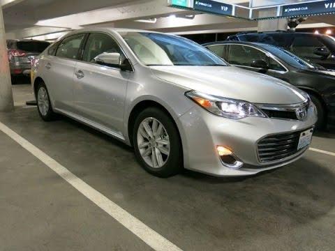 Новая Toyota Avalon 2012